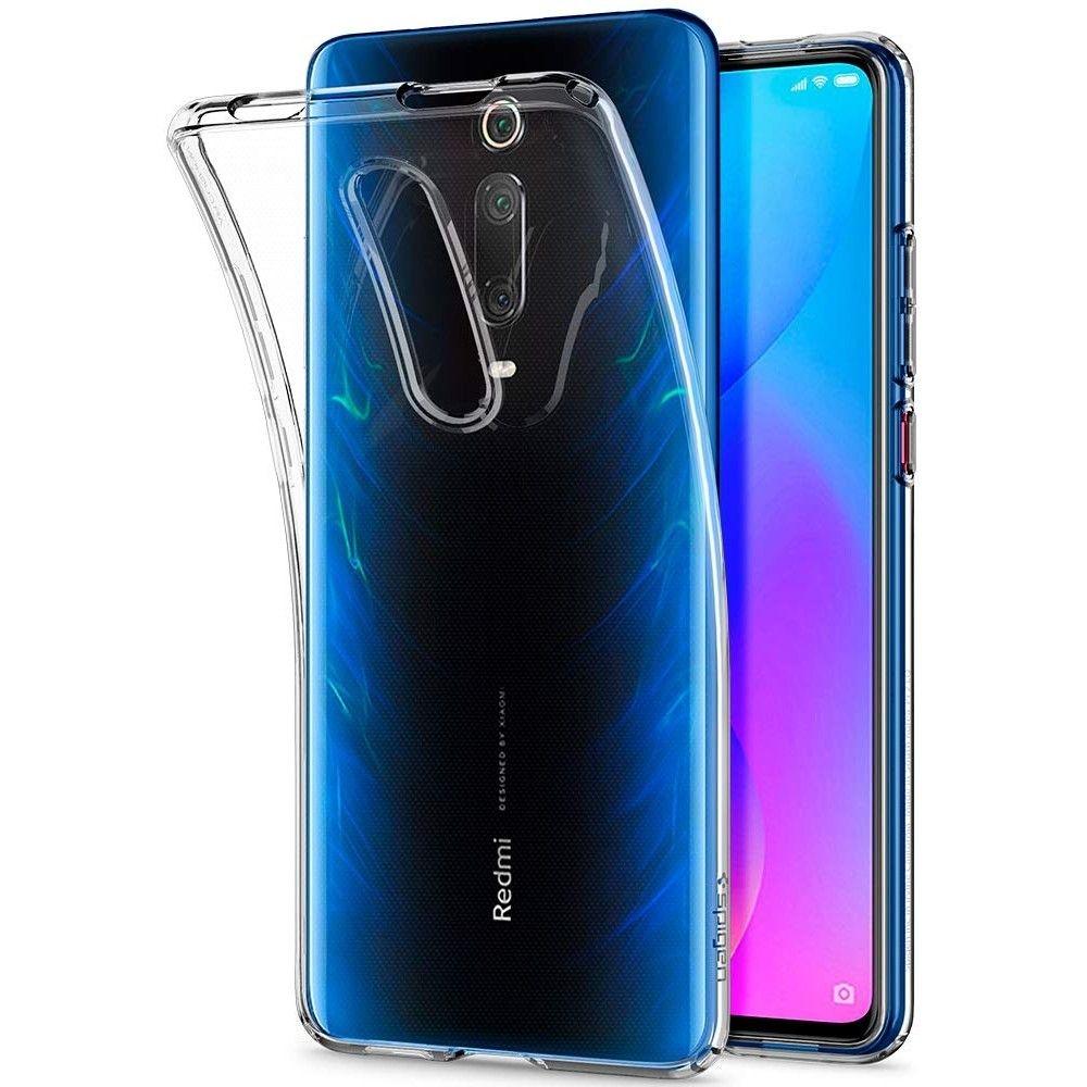 Spigen Θήκη TPU Liquid Crystal Xiaomi Mi 9T / Redmi K20 Pro - Crystal Clear (S53CS26404)