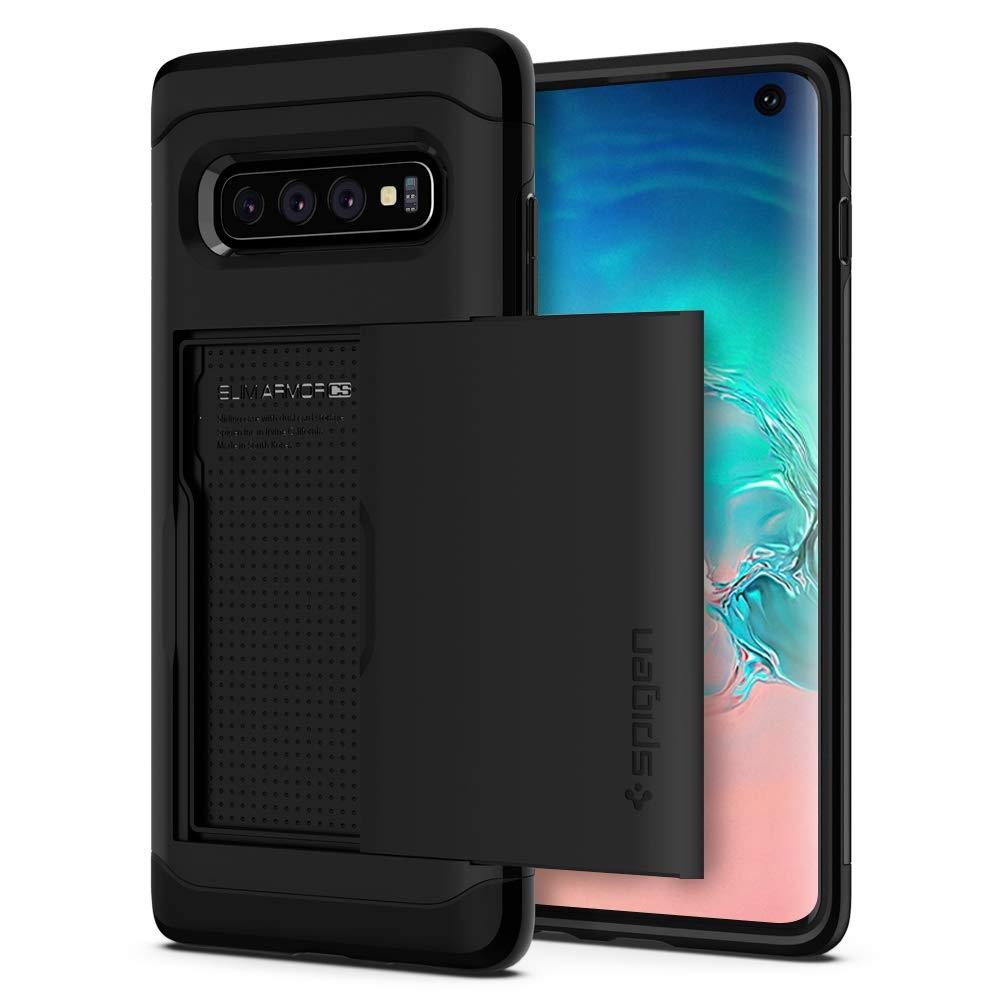 Spigen Slim Armor CS Θήκη Samsung Galaxy S10 - Black (605CS25816)