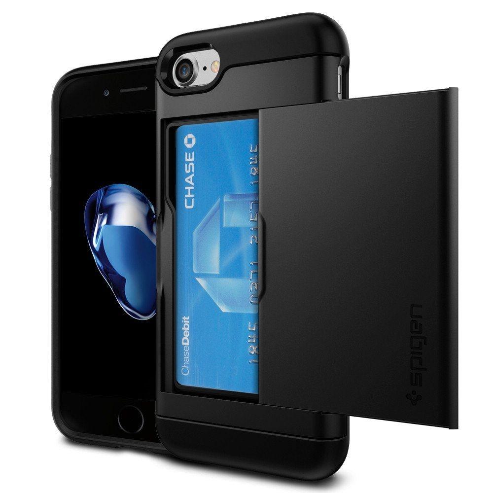 Spigen Slim Armor CS Θήκη iPhone 8 / 7 - Black (042CS20455)