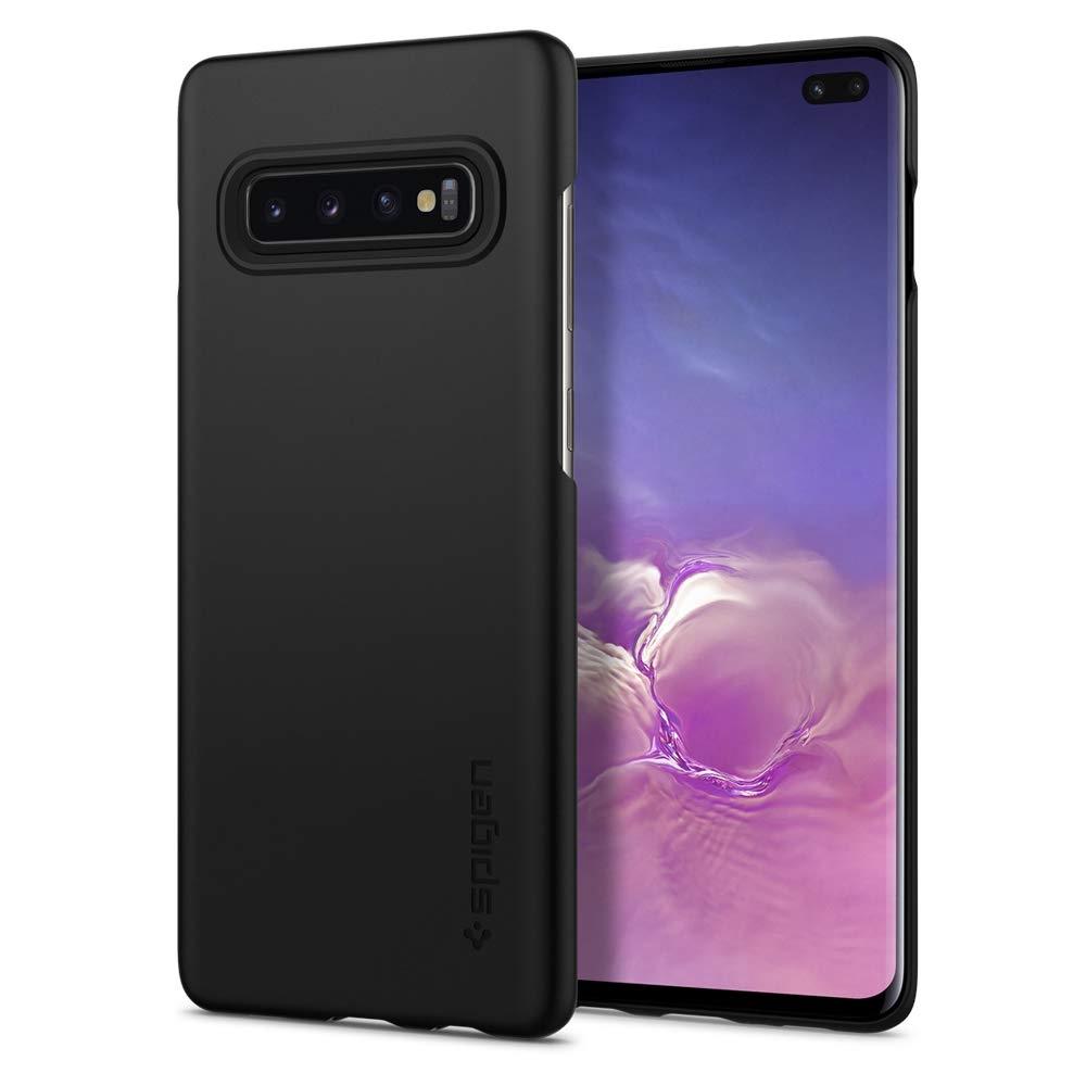 Spigen Θήκη Thin Fit Samsung Galaxy S10 Plus - Matte Black (606CS25756)