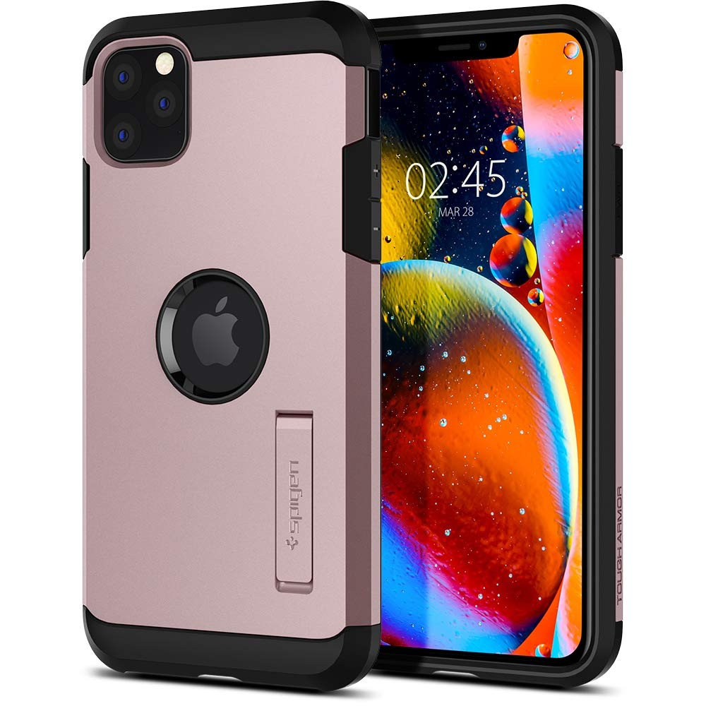 Spigen Θήκη Tough Armor iPhone 11 Pro - Rose Gold (077CS27242)