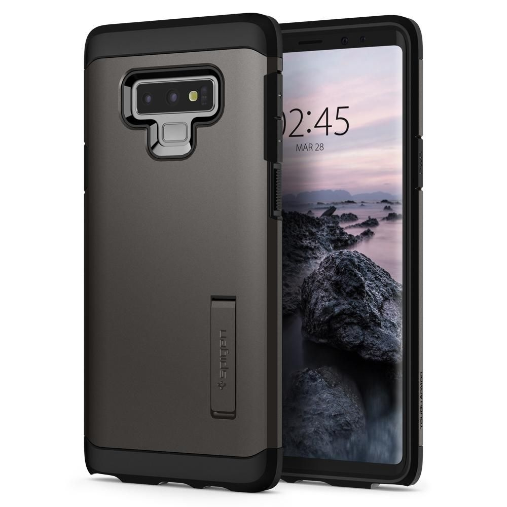 Spigen Θήκη Tough Armor Samsung Galaxy Note 9 - Gunmetal (599CS24576)