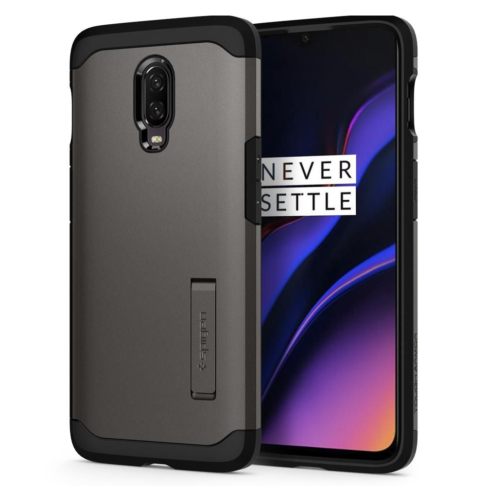 Spigen Θήκη Tough Armor OnePlus 6T - Gunmetal (K07CS25560)