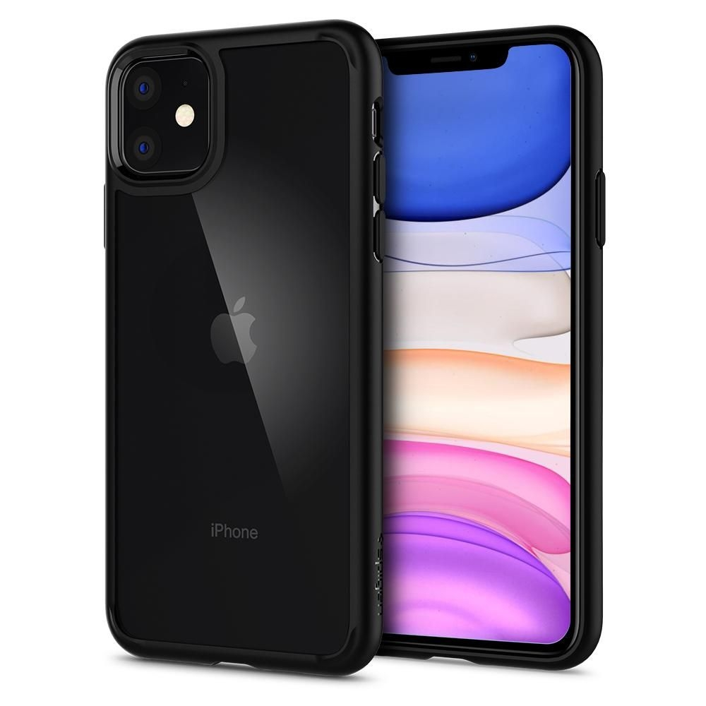 Spigen Ultra Hybrid Θήκη iPhone 11 - Black Matte (076CS27186)