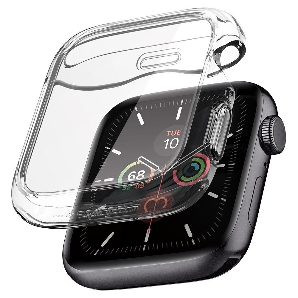 Spigen Θήκη Ultra Hybrid Apple Watch 5/4 (44mm) - Crystal Clear (ACS00428)