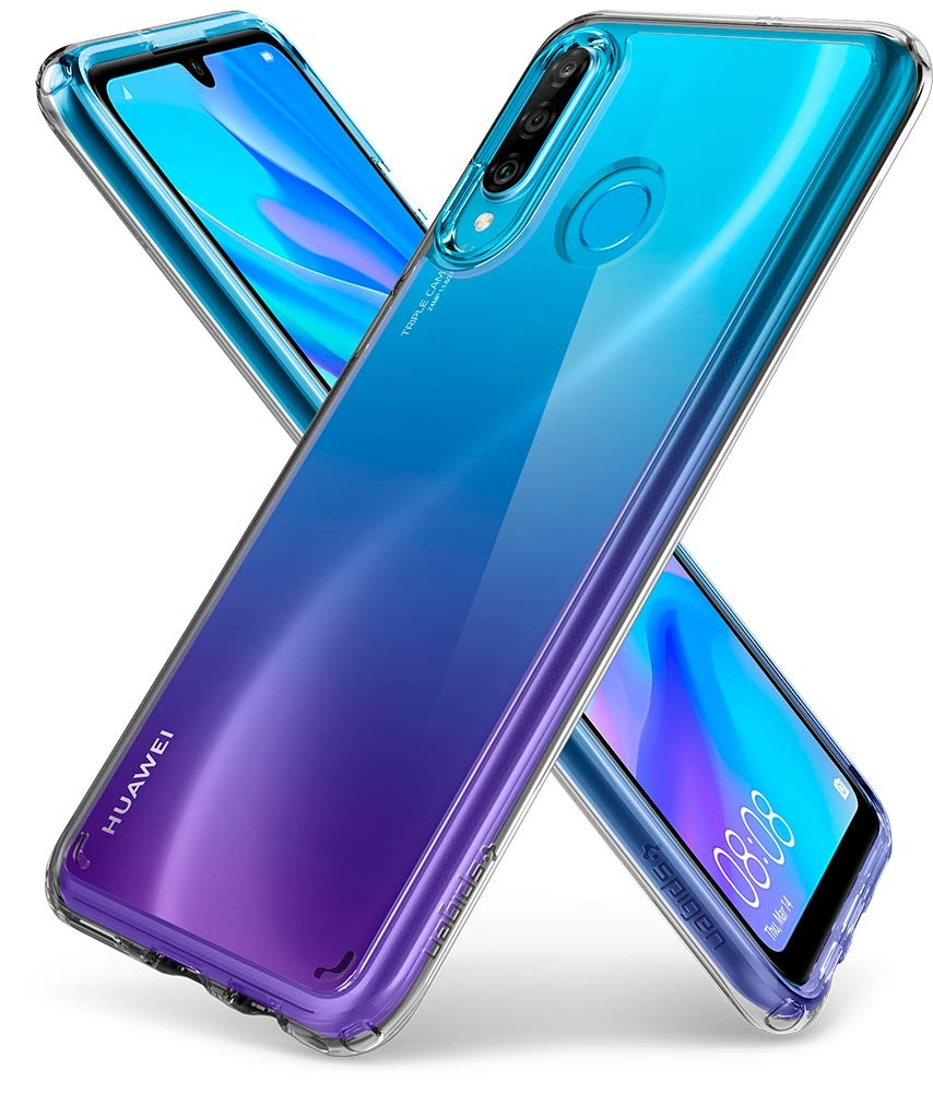 Spigen Ultra Hybrid Θήκη Huawei P30 Lite - Crystal Clear (L39CS25741)
