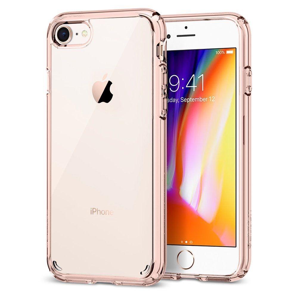Spigen Θήκη Ultra Hybrid 2 iPhone 8 / 7 - Rose Crystal (042CS20924)