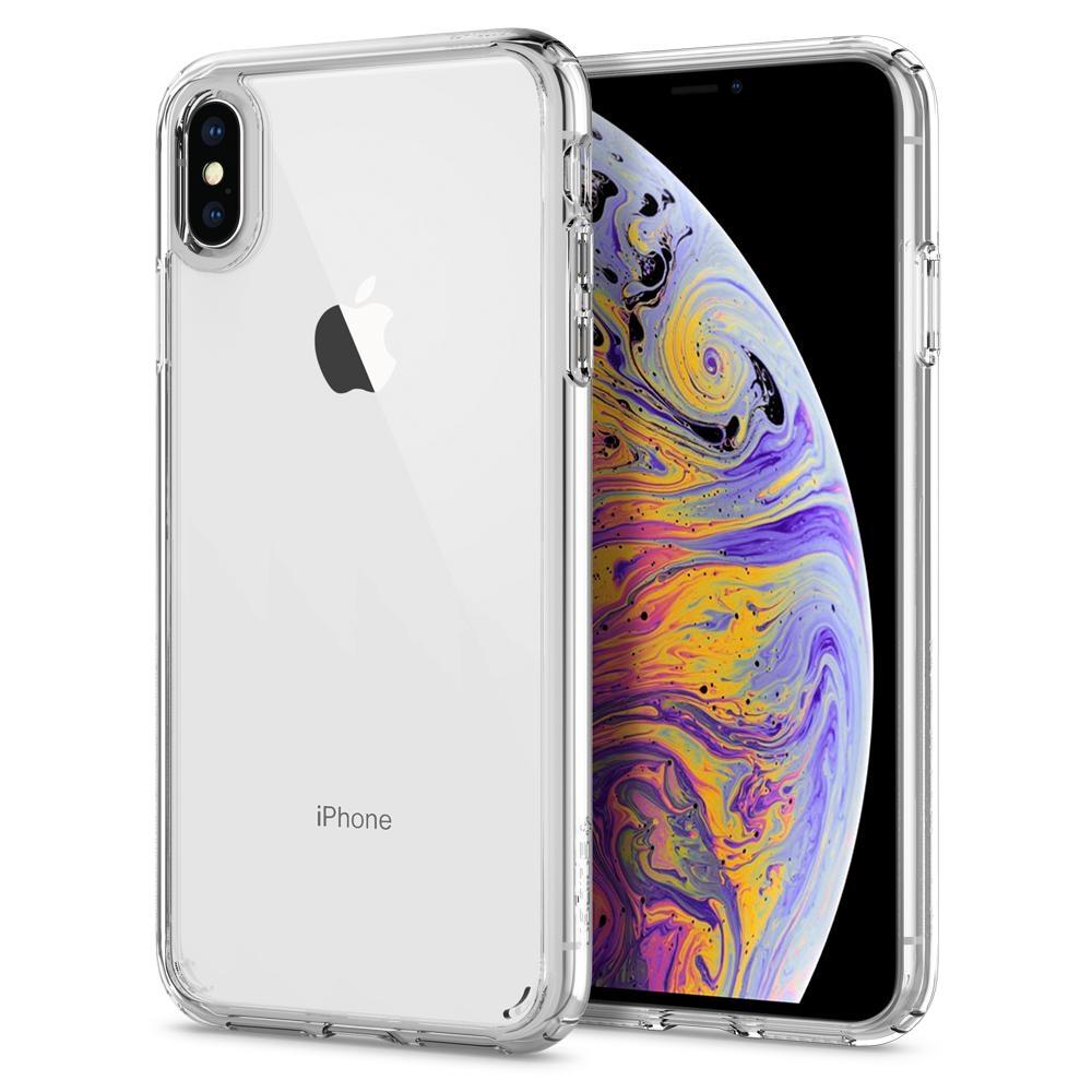 Spigen Ultra Hybrid Θήκη iPhone XS Max - Crystal Clear (065CS25127)