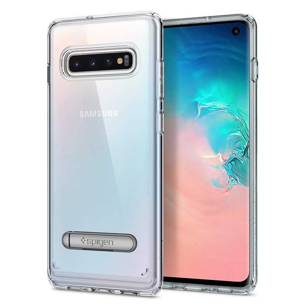 Spigen Ultra Hybrid Θήκη Samsung Galaxy S10 - Crystal Clear (605CS25803)