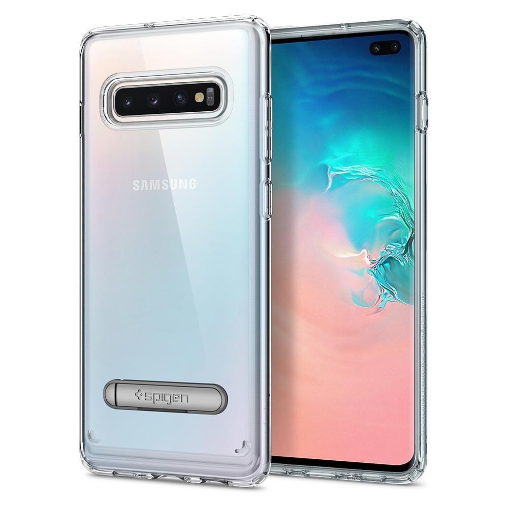Spigen Ultra Hybrid Θήκη Samsung Galaxy S10 Plus - Crystal Clear (606CS25768)