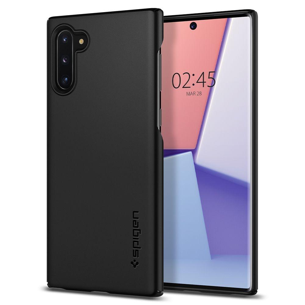 Spigen Θήκη Thin Fit Samsung Galaxy Note 10 - Black (628CS27368)