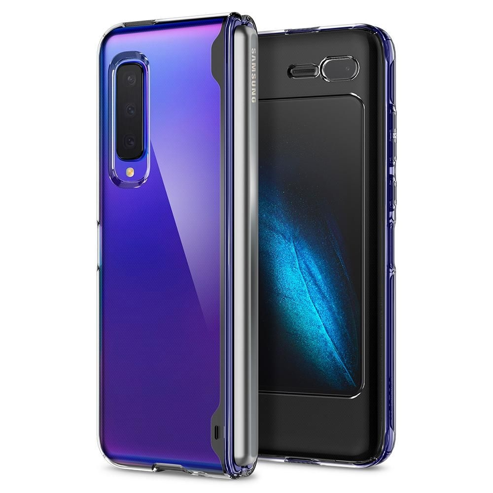 Spigen Θήκη Ultra Hybrid Samsung Galaxy Fold - Crystal Clear (615CS26162)