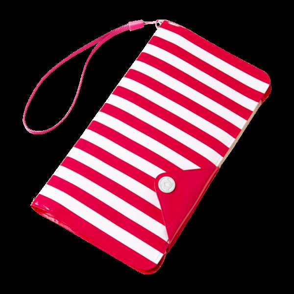 Celly Universal Αδιάβροχη Θήκη Splashproof Wallet για Smartphones έως 5.7'' - IPX4 - Pink (SPLASHWALLETPK)