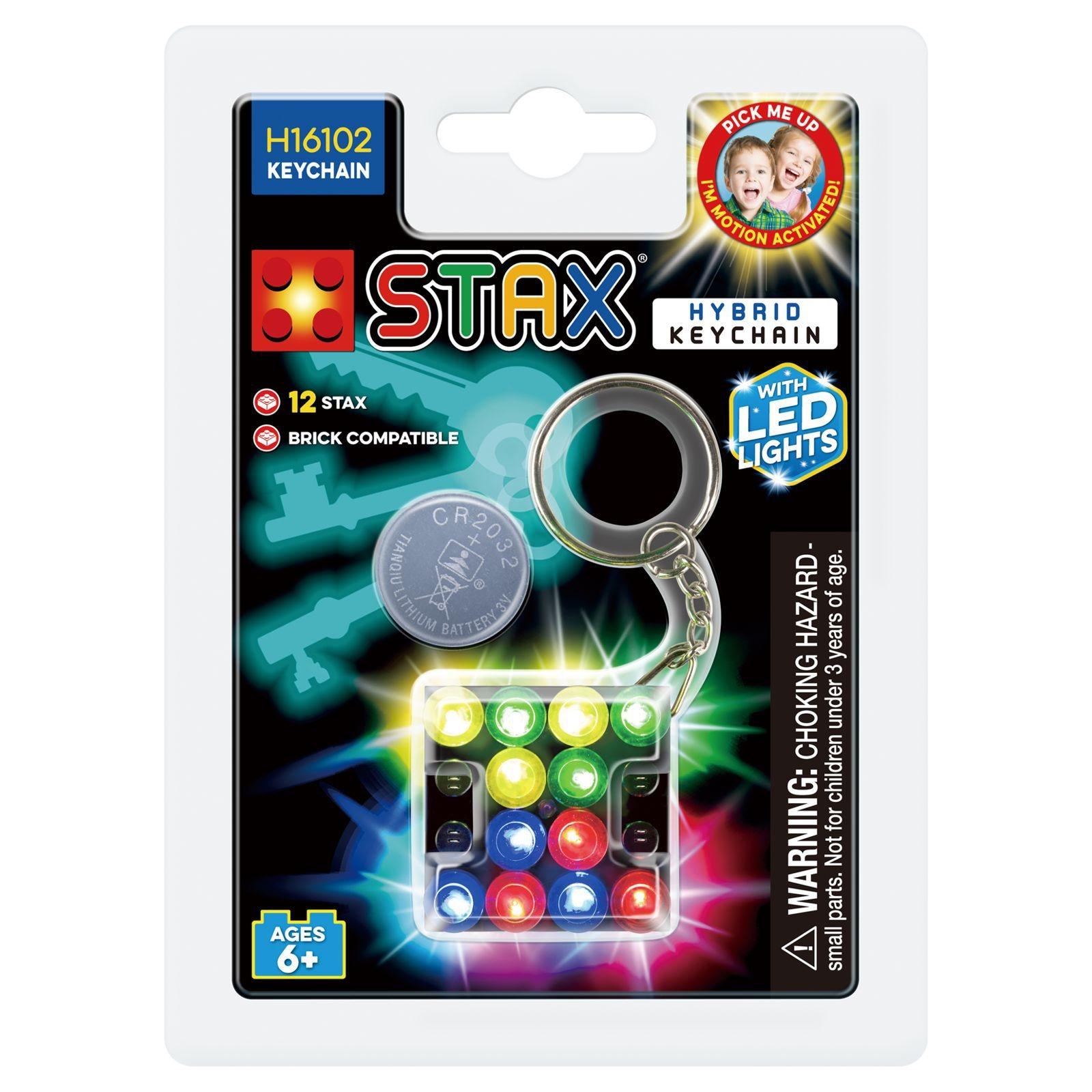 STAX Hybrid Keychain - Παιχνίδι-Μπρελόκ Με Φωτάκια LED (H16102)
