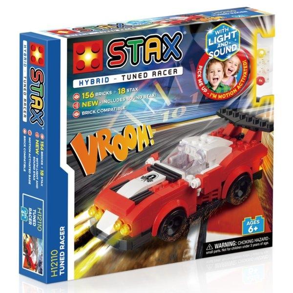 STAX Hybrid Tuned Racer - Παιχνίδι-Αγωνιστικό Αυτοκίνητο Με Φωτάκια LED (H12110)