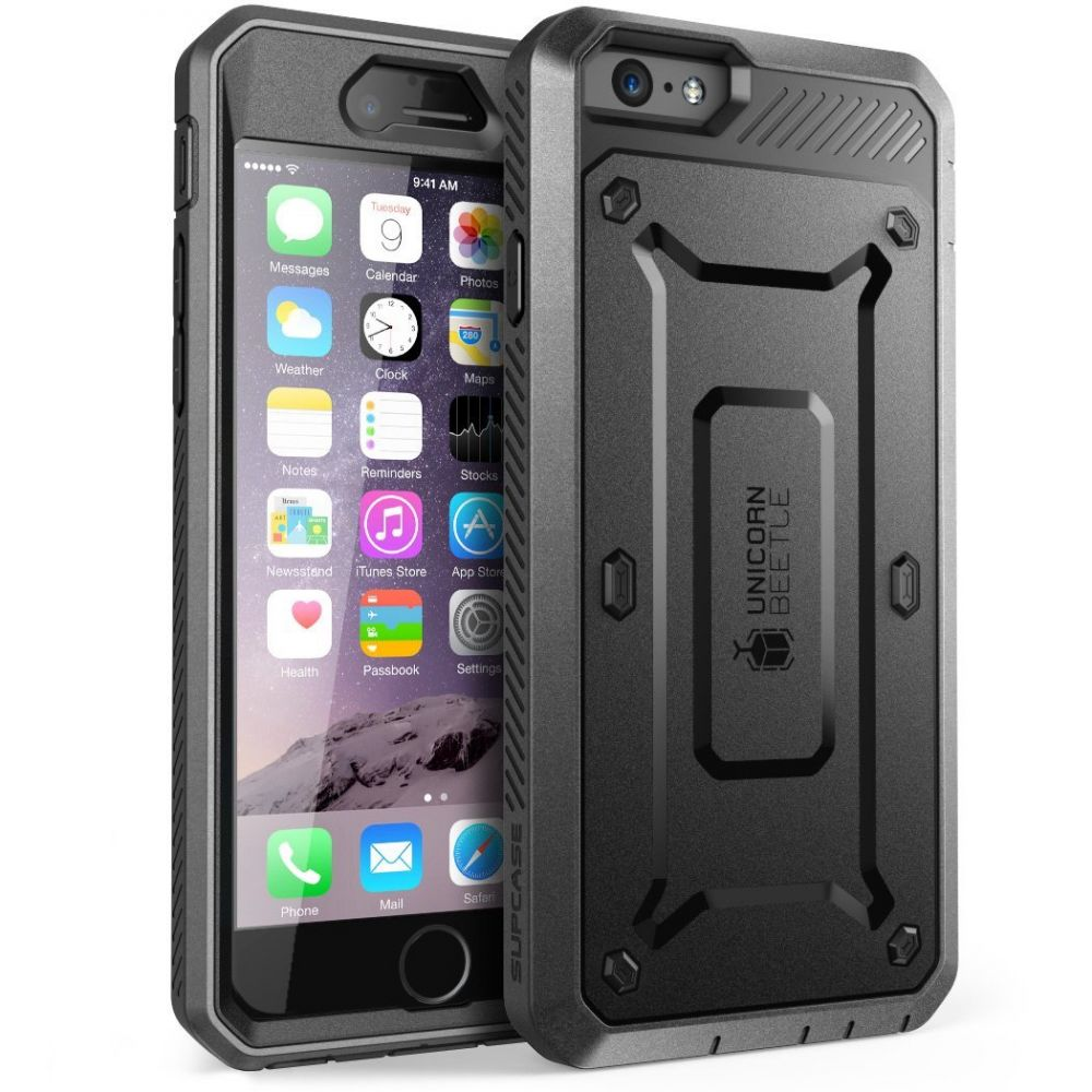 Supcase Ανθεκτική Θήκη Unicorn Beetle Pro iPhone 6/6S - Black