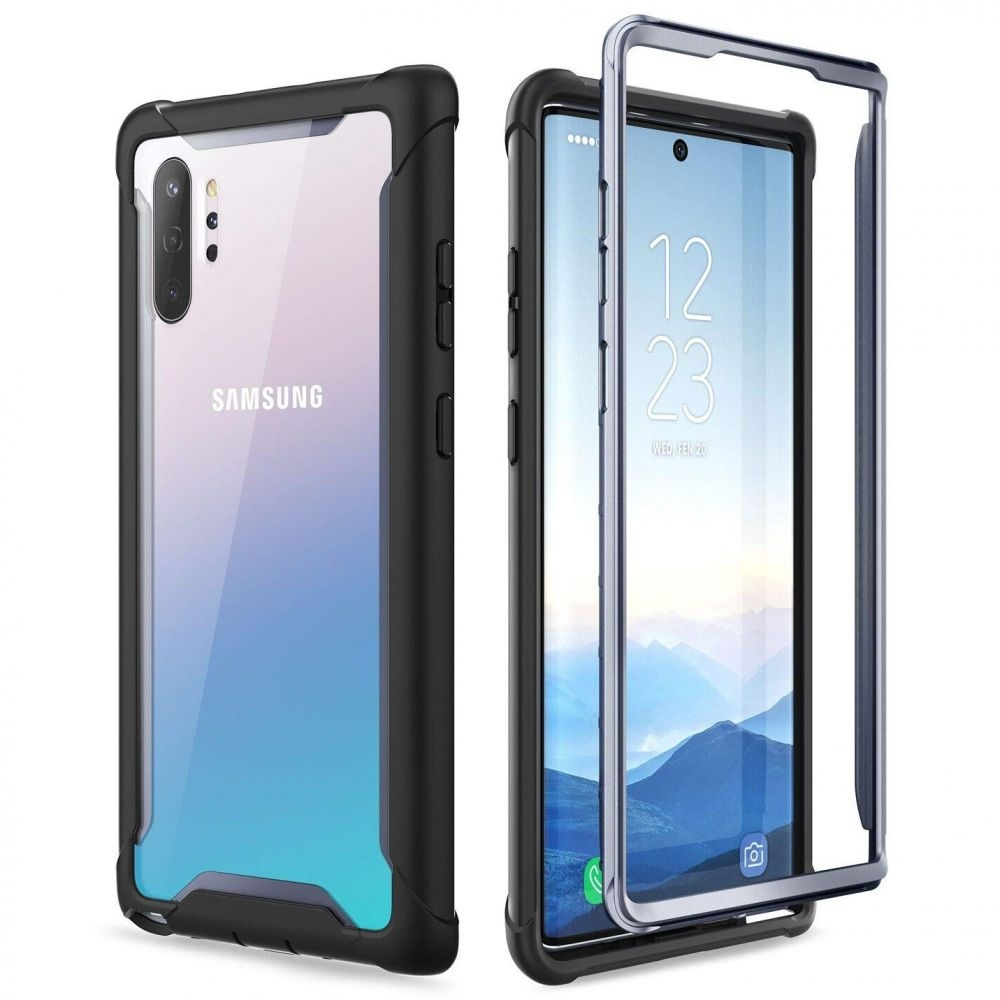 Supcase i-Blason Ανθεκτική Θήκη Samsung Galaxy Note 10 Plus - Black (KD190917)