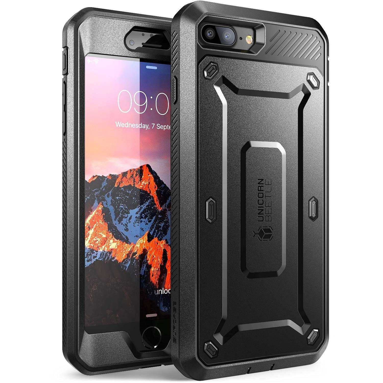 Supcase Ανθεκτική Θήκη Unicorn Beetle Pro iPhone 8 Plus / iPhone 7 Plus - Black