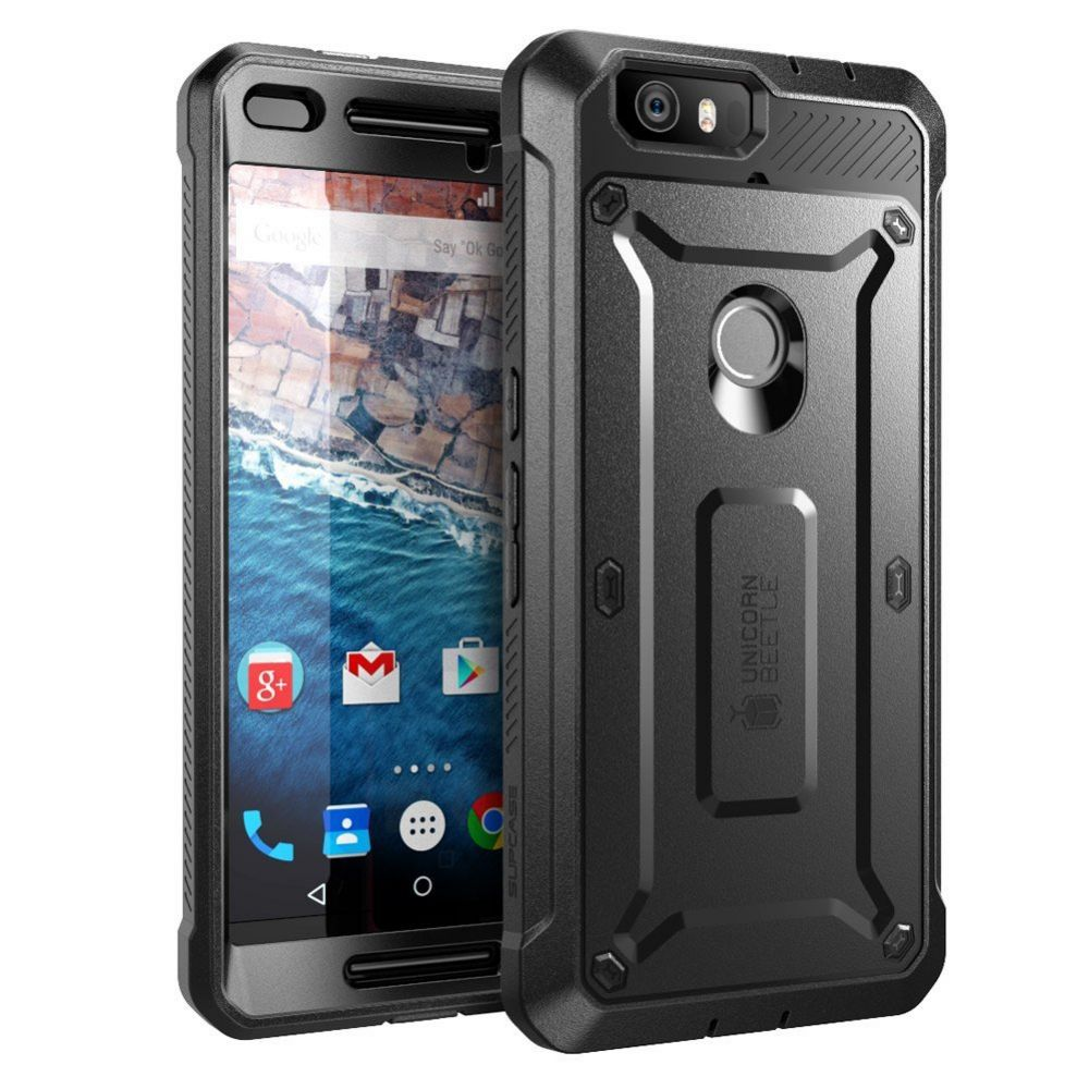 Supcase Ανθεκτική Θήκη Unicorn Beetle Pro Huawei Nexus 6P - Black