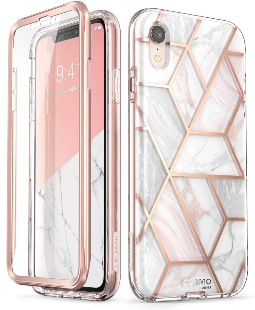Supcase i-Blason Cosmo Ανθεκτική Θήκη iPhone XR - Marble (iPhoneXR-6.1-Cosmo-SP-Marble)