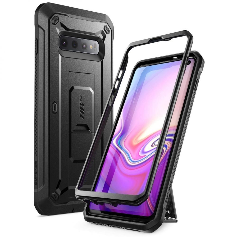 Supcase Ανθεκτική Θήκη Unicorn Beetle Pro Samsung Galaxy S10 - Black (SUP-Galaxy-S10-UBPro-SP-Black)
