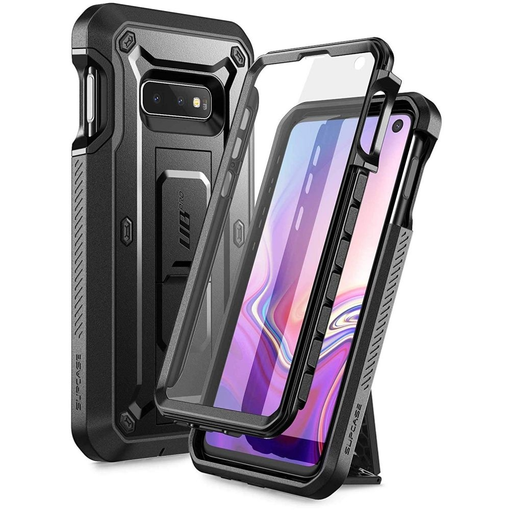 Supcase Ανθεκτική Θήκη Unicorn Beetle Pro Samsung Galaxy S10e - Black (SUP-Galaxy-S10Lite-UBPRO-SP-Black)