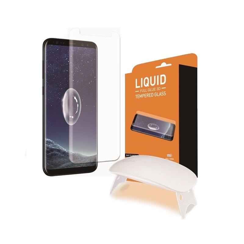 T-MAX Liquid Full Glue 3D Tempered Glass - Σύστημα προστασίας οθόνης Samsung Galaxy S9 Plus (13786)