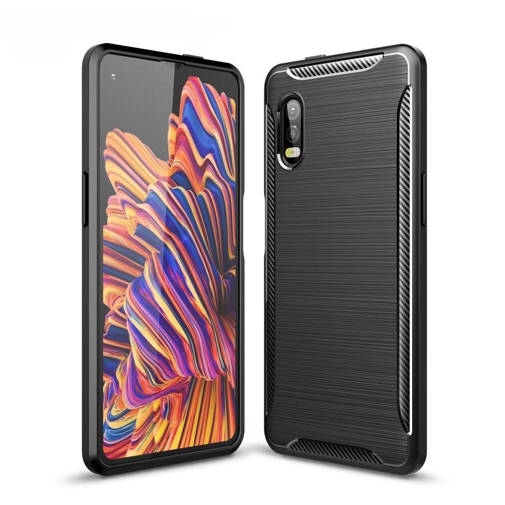 Tech-Protect Θήκη Σιλικόνης Carbon Samsung Galaxy Xcover Pro - Black (64692)