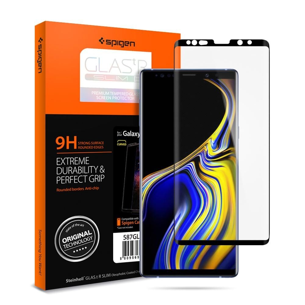 Spigen Tempered Glass Samsung Galaxy Note 9 GLAS.tR Curved (599GL24507)