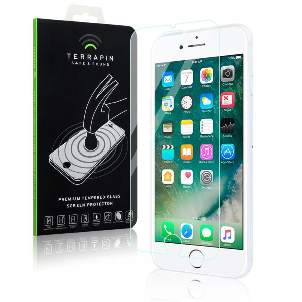 Terrapin Tempered Glass - Αντιχαρακτικό Γυάλινο Screen Protector iPhone 8 / 7 (006-122-004)