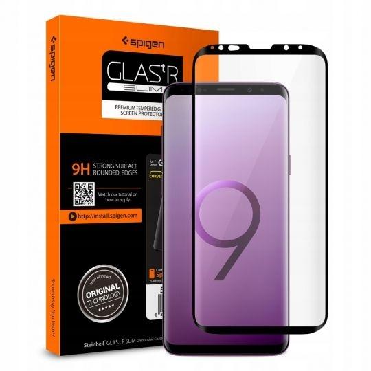 Spigen Tempered Glass Samsung Galaxy S9 GLAS.tR Curved (593GL22820)