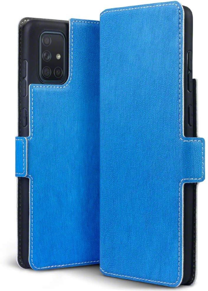 Terrapin Low Profile Θήκη - Πορτοφόλι Samsung Galaxy A71 - Blue (117-002a-220)