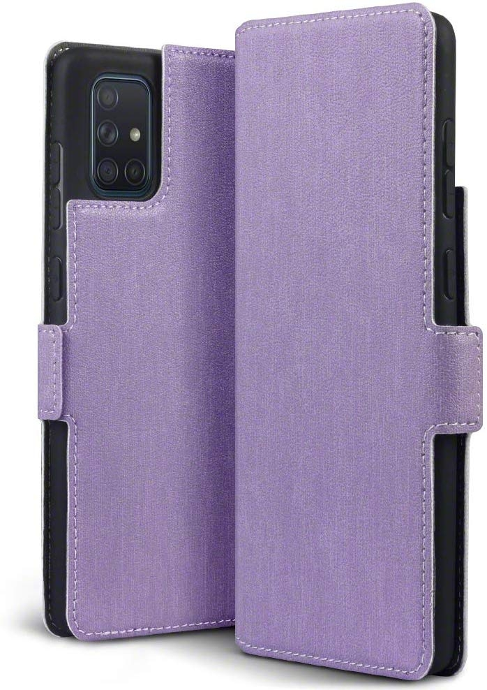 Terrapin Low Profile Θήκη - Πορτοφόλι Samsung Galaxy A71 - Purple (117-002a-219)