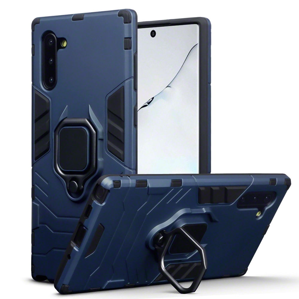 Terrapin Ανθεκτική Dual Layer Θήκη Samsung Galaxy Note 10 - Blue (131-002-189)