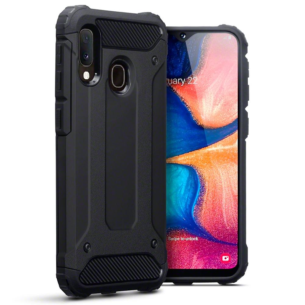 Terrapin Ανθεκτική Θήκη Double Layer Impact Samsung Galaxy A20e - Black (131-002-184)