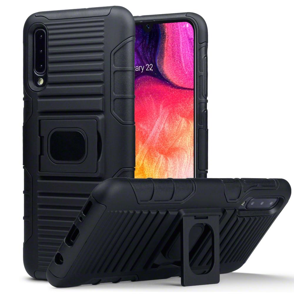 Terrapin Ανθεκτική Rugged Θήκη Samsung Galaxy A50 - Black (131-002-157)