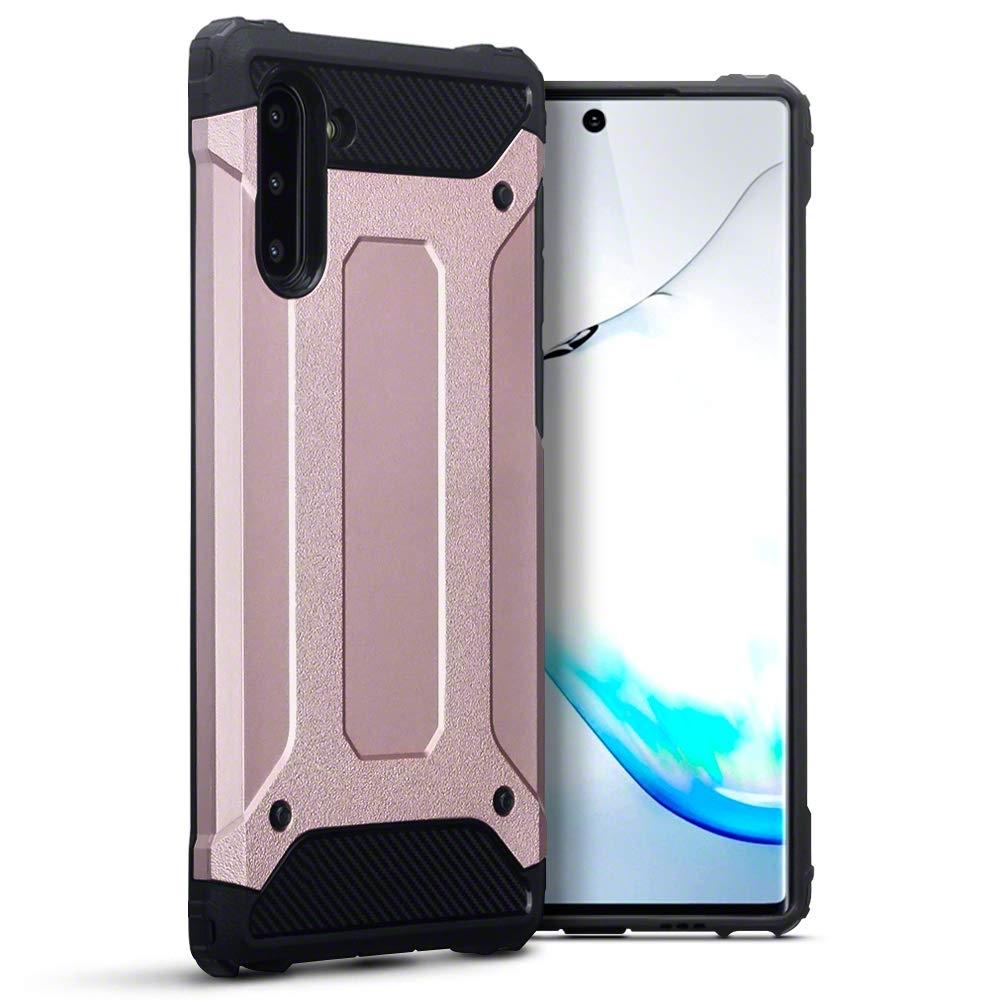 Terrapin Ανθεκτική Θήκη Double Layer Impact Samsung Galaxy Note 10 - Rose Gold (131-002-192)
