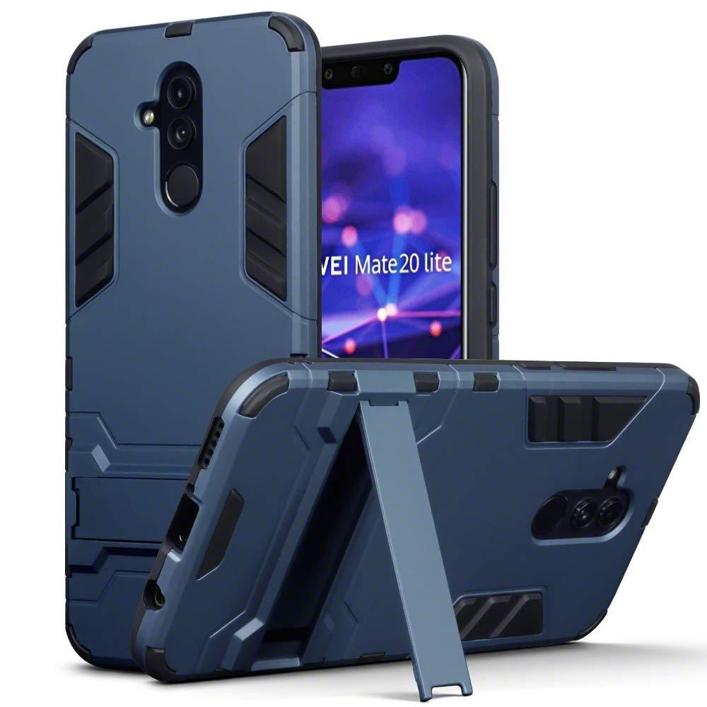 Terrapin Ανθεκτική Dual Layer Θήκη Huawei Mate 20 Lite - Blue (131-083-082)