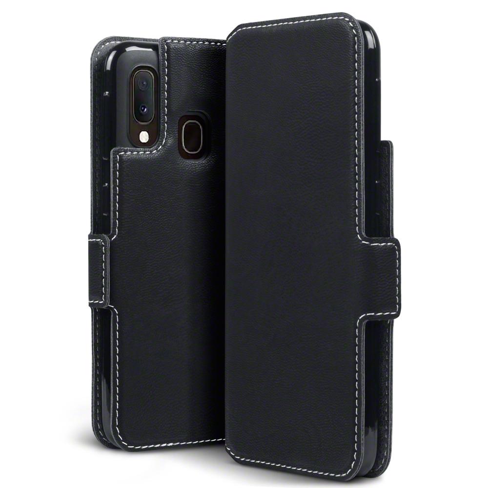 Terrapin Low Profile Θήκη - Πορτοφόλι Samsung Galaxy A20e - Black (117-002a-173)