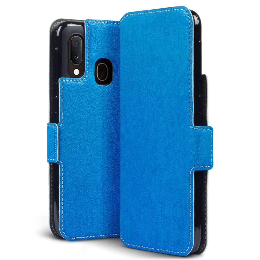 Terrapin Low Profile Θήκη - Πορτοφόλι Samsung Galaxy A20e - Blue (117-002a-175)