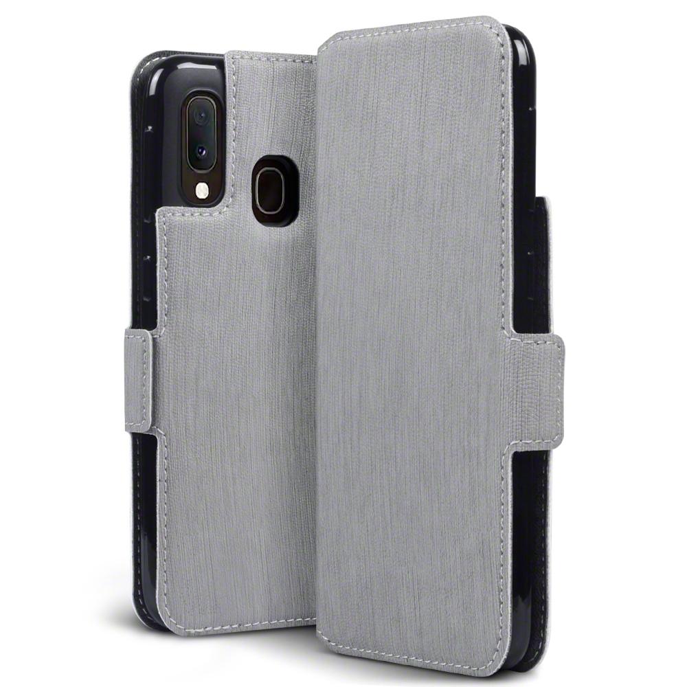 Terrapin Low Profile Θήκη - Πορτοφόλι Samsung Galaxy A20e - Grey (117-002a-176)
