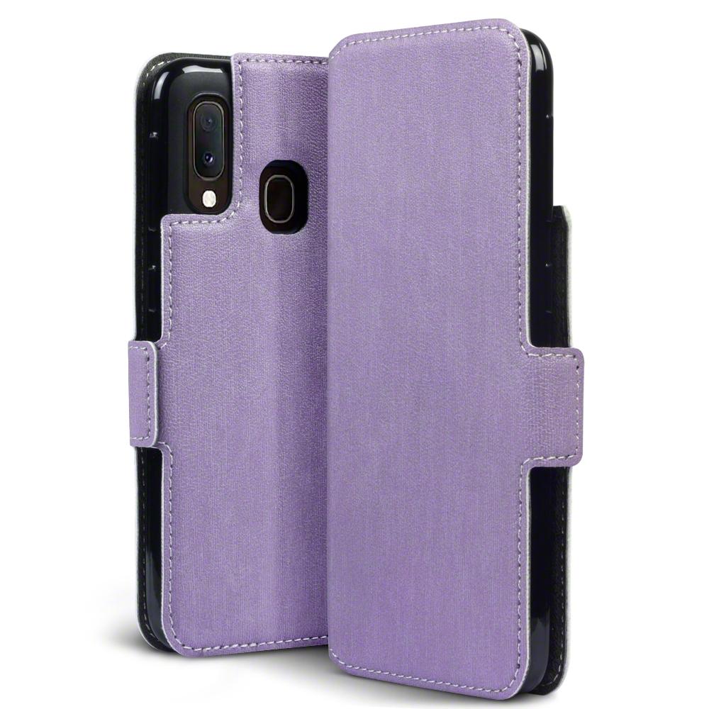 Terrapin Low Profile Θήκη - Πορτοφόλι Samsung Galaxy A20e - Purple (117-002a-174)
