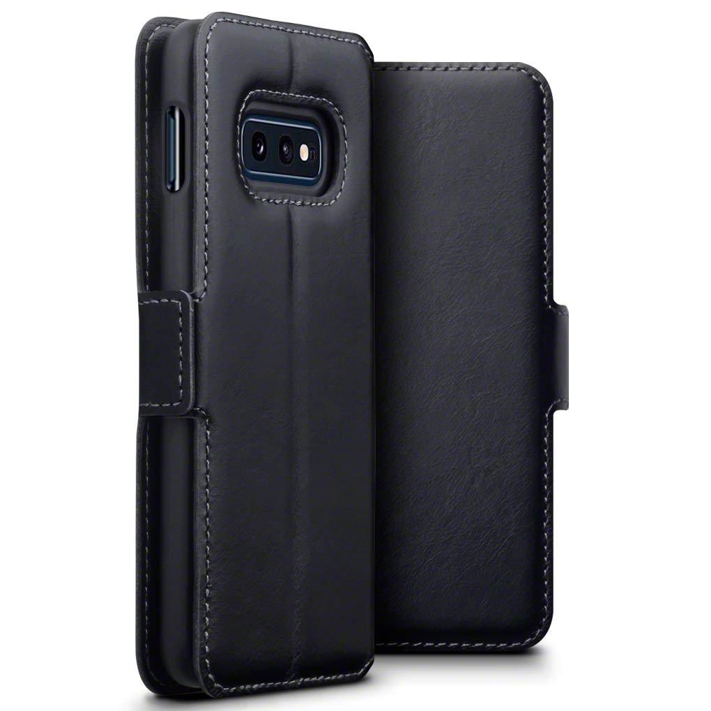 Terrapin Low Profile Δερμάτινη Θήκη - Πορτοφόλι Samsung Galaxy S10e - Black (117-002a-099)