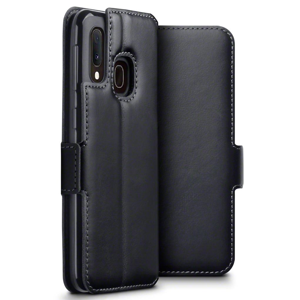 Terrapin Δερμάτινη Θήκη - Πορτοφόλι Samsung Galaxy A20e - Black (117-002a-171)