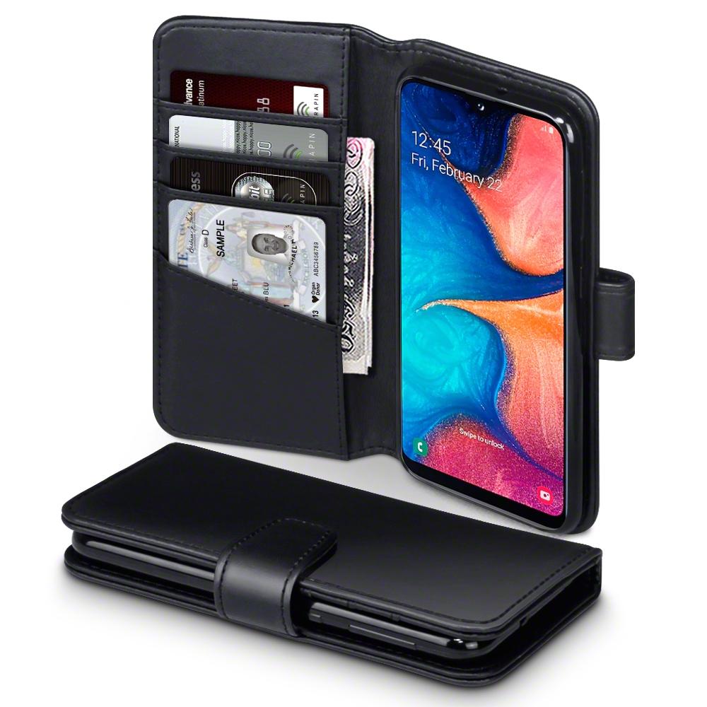 Terrapin Δερμάτινη Θήκη - Πορτοφόλι Samsung Galaxy A20e - Black (117-002a-172)