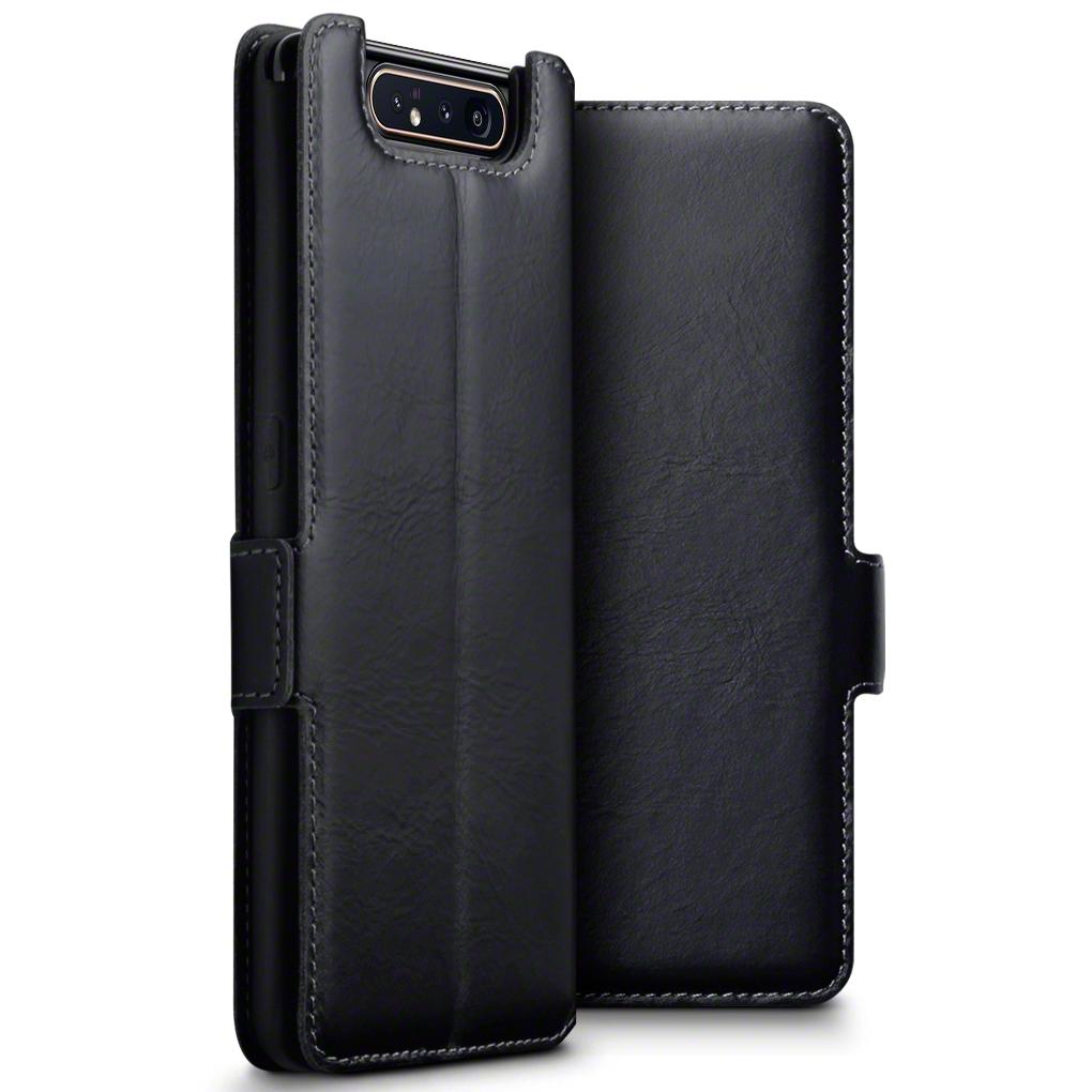 Terrapin Δερμάτινη Θήκη - Πορτοφόλι Samsung Galaxy A80 - Black (117-002a-158)