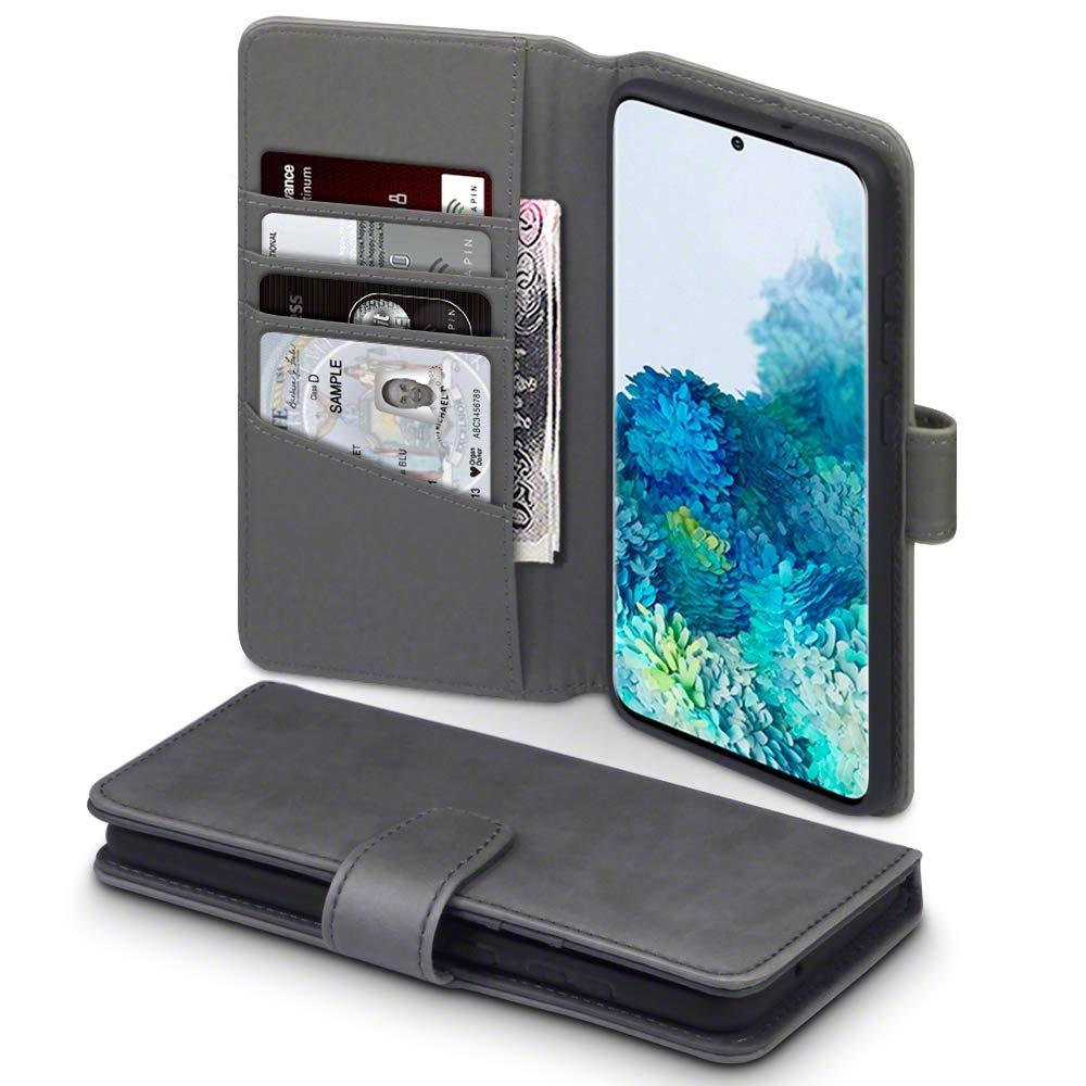 Terrapin Δερμάτινη Θήκη - Πορτοφόλι Samsung Galaxy S20 Plus - Grey (117-002a-237)
