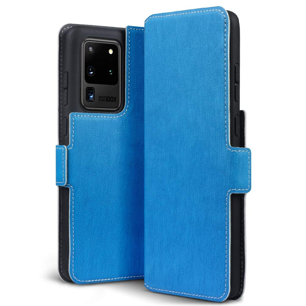Terrapin Low Profile Θήκη - Πορτοφόλι Samsung Galaxy S20 Ultra - Blue (117-002a-253)