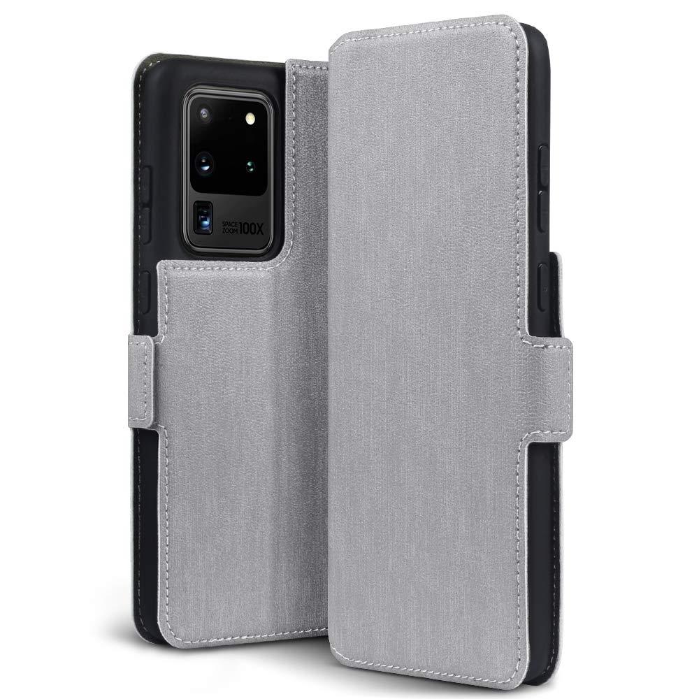 Terrapin Low Profile Θήκη - Πορτοφόλι Samsung Galaxy S20 Ultra - Grey (117-002a-254)