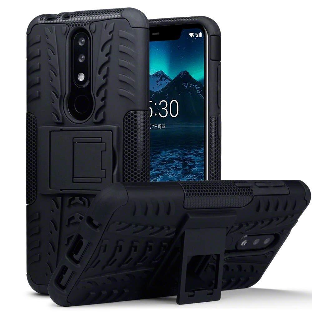 Terrapin Ανθεκτική Θήκη Nokia 5.1 Plus - Black (131-001-038)